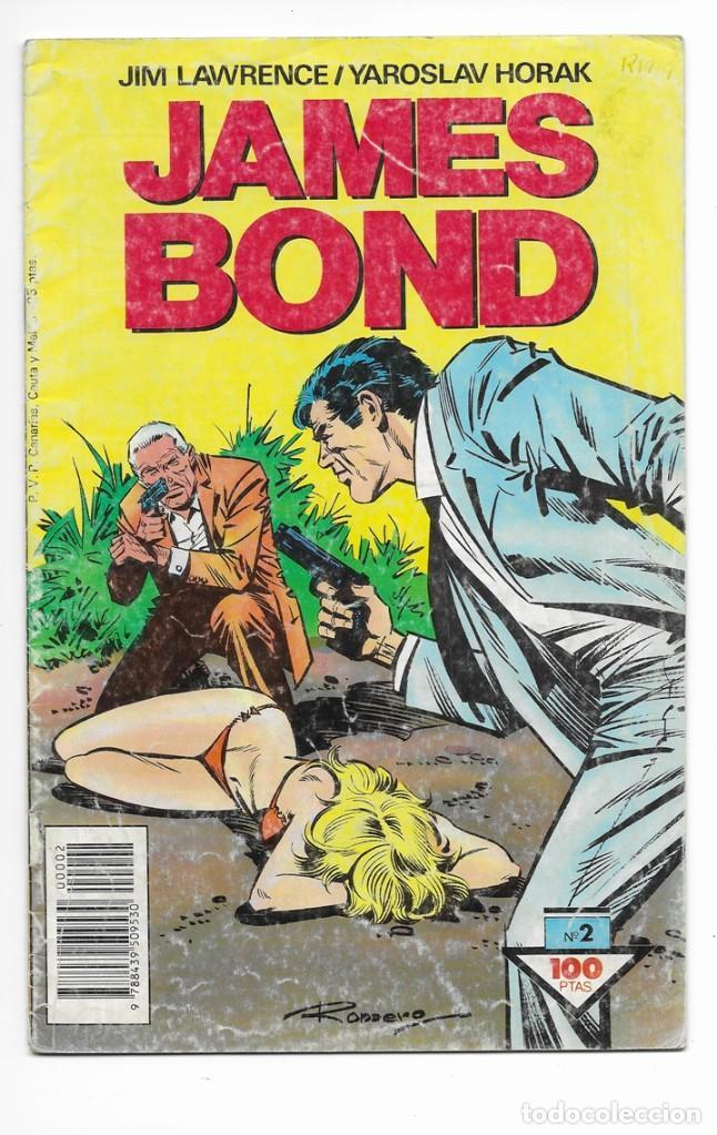JAMES BOND Nº 2 - EL HOMBRE DE LAS PISTOLAS DE ORO (1988) (Tebeos y Comics - Buru-Lan - James Bond)