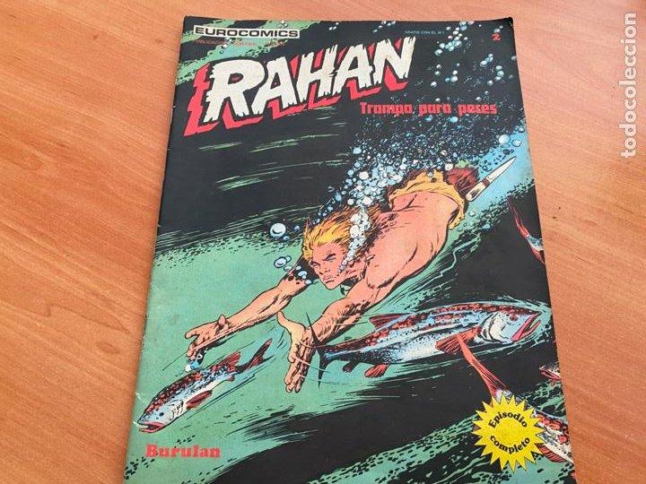 RAHAN Nº 2 BURULAN TRAMPA PARA PECES (COIB117) (Tebeos y Comics - Buru-Lan - Rahan)