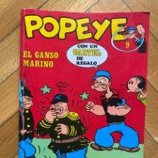 Cómics: POPEYE Nº 9 - EL GANSO MARINO. Lote 259260215