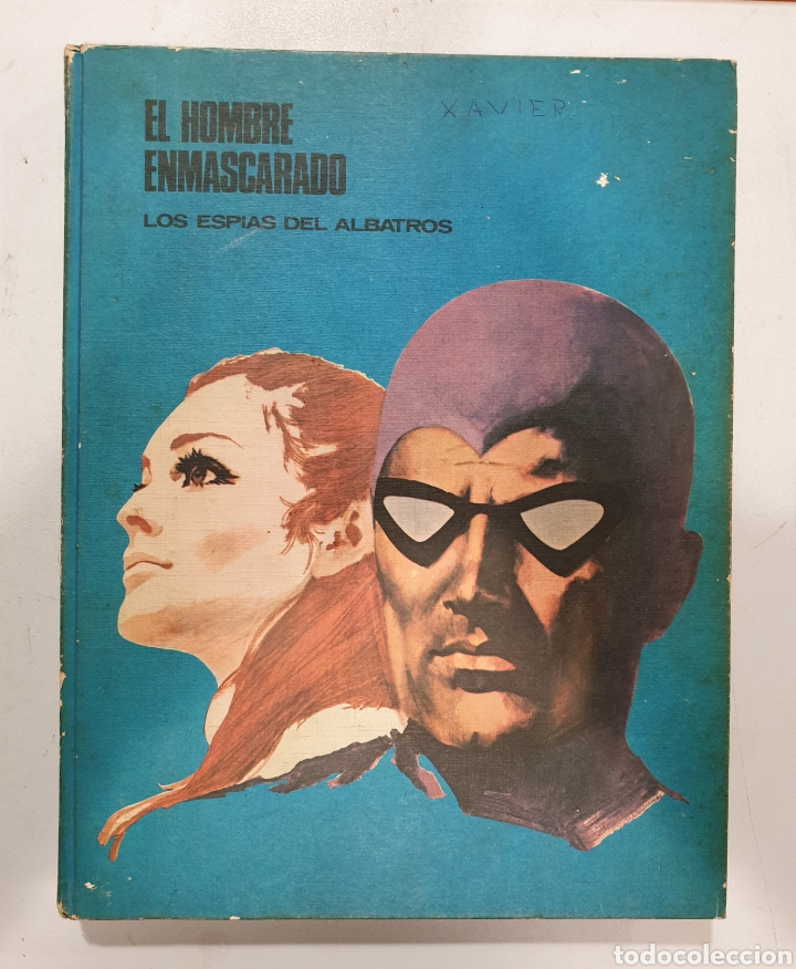 EL HOMBRE ENMASCARADO TOMO 2. LOS ESPÍAS DEL ALBATROS. BURU LAN (Tebeos y Comics - Buru-Lan - Hombre Enmascarado)