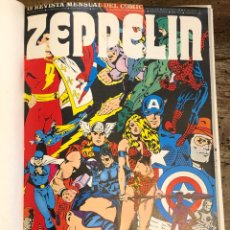 Comics: ZEPPELIN - REVISTA MENSUAL DEL CÓMIC - TOMOS 1 AL 12 - BURU-LAN 1974. Lote 260091555