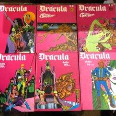 Fumetti: DRÁCULA - COLECIÓN COMPLETA 6 TOMOS DELTA 99, 5 POR INFINITO - BURU-LAN. Lote 260100225