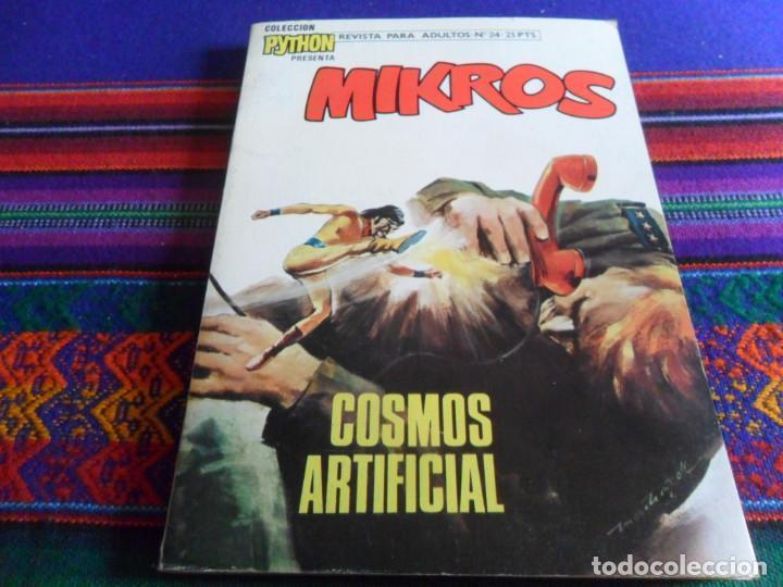 Cómics: ZAGOR NºS 4 31 32. BURU LAN 1971. 25 PTS. REGALO COLECCIÓN PYTHON MIKROS Nº 24 IBERO MUNDIAL 1972 BE - Foto 3 - 260413230