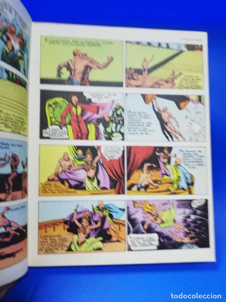 Cómics: FLASH GORDON EL RAYO VERDE. TOMO 01. BURU LAN, S.A. DE EDICIONES. 1972. PAGS. 200. - Foto 3 - 260818860