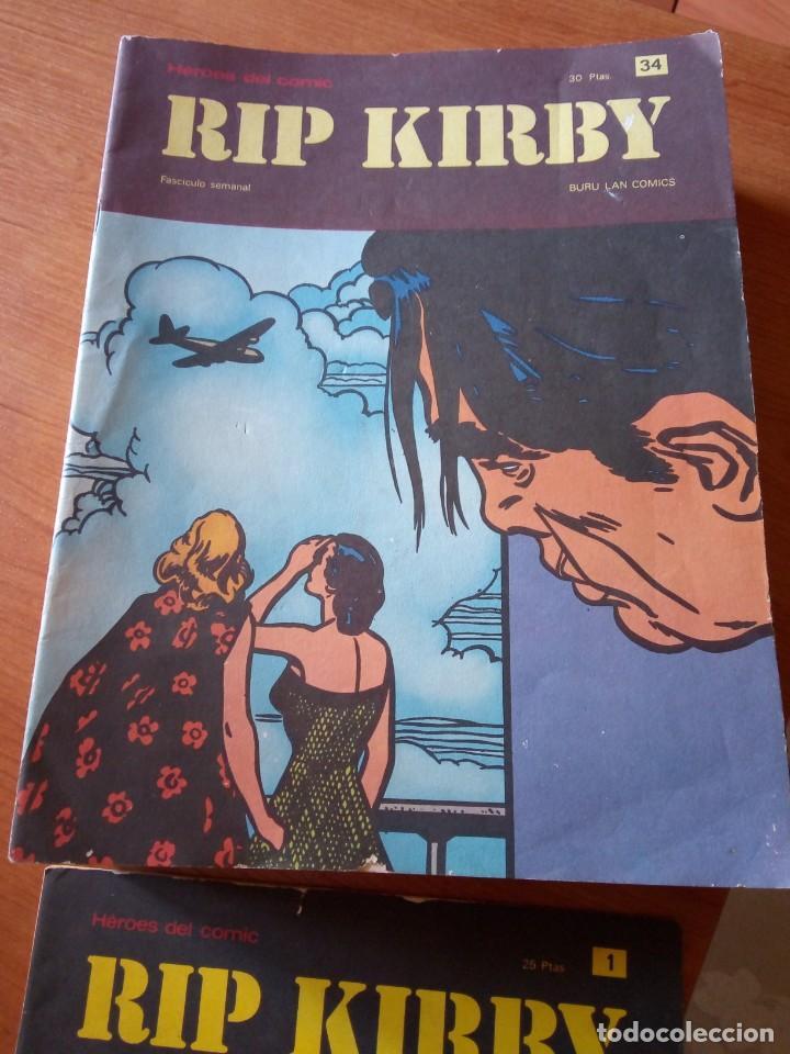Cómics: RIP KIRBY BURULAN / HEROES DEL COMIC / RIP KIRBY - Foto 2 - 261172530