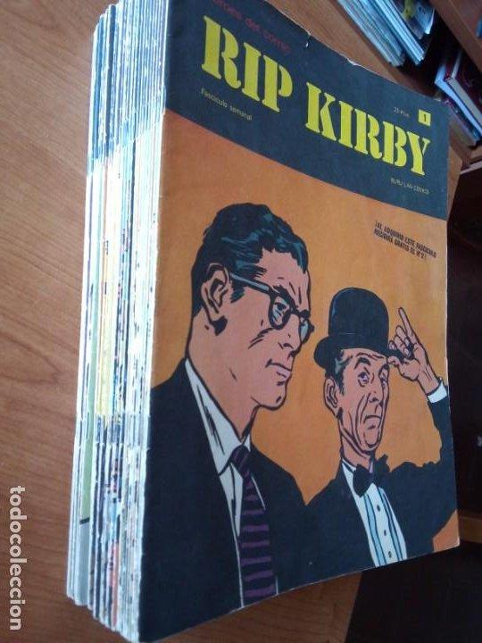 RIP KIRBY BURULAN / HEROES DEL COMIC / RIP KIRBY (Tebeos y Comics - Buru-Lan - Rip Kirby)