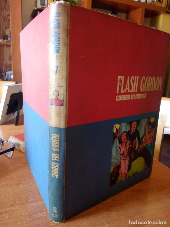 Cómics: FLASH GORDON - TOMO 7 -GUERRA EN MONGO. BURU LAN - Foto 3 - 261346965