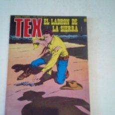 Cómics: TEX -EL LADRON DE LA SIERRA - NUMERO 92 - EDICIONES BURU LAN - MUY BUEN ESTADO - NUEVO - GORBAUD. Lote 261919430