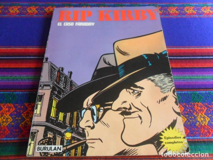 RIP KIRBY Nº 1 BURULAN BURU LAN 1974. EL CASO FARADAY. REGALO Nº 3 MISS PRISCILLA. (Tebeos y Comics - Buru-Lan - Rip Kirby)