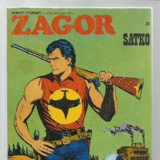 Cómics: ZAGOR 55: SATKO, 1973, BURU LAN, BUEN ESTADO. Lote 262213845