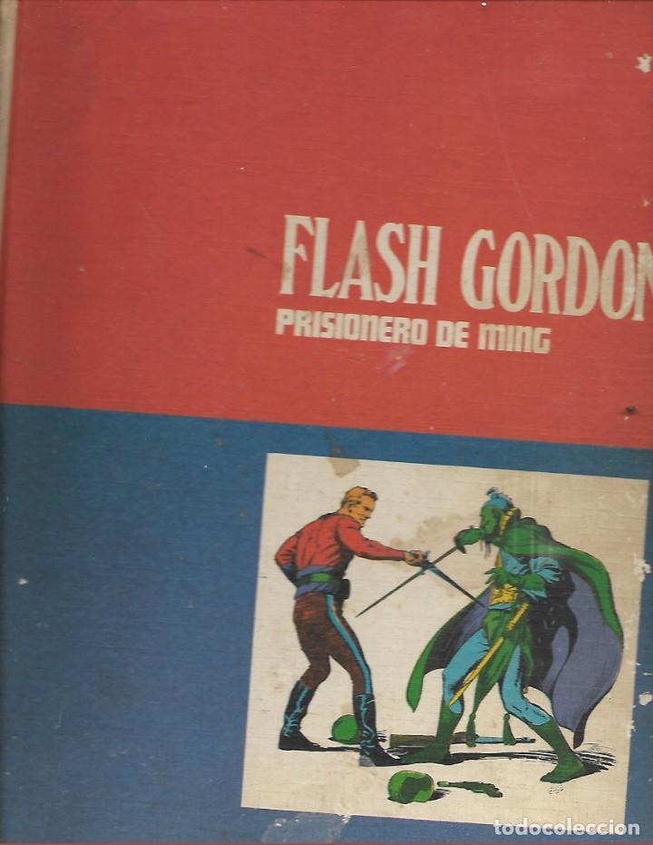 COMIC DE 1971 FLASH GORDON Nº 1 PRISIONERO DE MING CON 4 EPISODIOS (Tebeos y Comics - Buru-Lan - Flash Gordon)