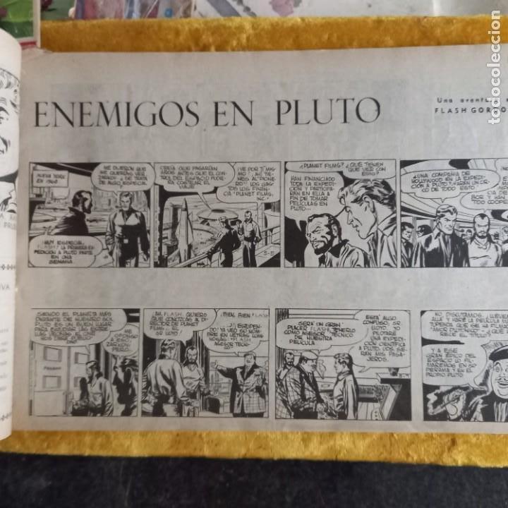 Cómics: TOMO tebeios ALBUM VII VIII IX X XI -XII ORIGINALES FLASH GORDON ALBUM DE ORO EDITORIAL DOLAR - Foto 14 - 215359735