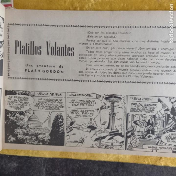 Cómics: TOMO tebeios ALBUM VII VIII IX X XI -XII ORIGINALES FLASH GORDON ALBUM DE ORO EDITORIAL DOLAR - Foto 16 - 215359735