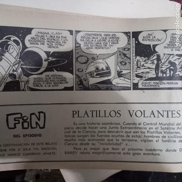Cómics: TOMO tebeios ALBUM VII VIII IX X XI -XII ORIGINALES FLASH GORDON ALBUM DE ORO EDITORIAL DOLAR - Foto 17 - 215359735