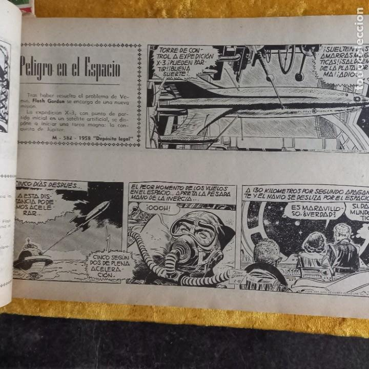 Cómics: TOMO tebeios ALBUM VII VIII IX X XI -XII ORIGINALES FLASH GORDON ALBUM DE ORO EDITORIAL DOLAR - Foto 18 - 215359735
