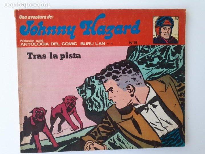 JOHNNY HAZARD Nº 8. TRAS LA PISTA. ANTOLOGÍA DEL COMIC BURU LAN Nº 16. (Tebeos y Comics - Buru-Lan - Otros)