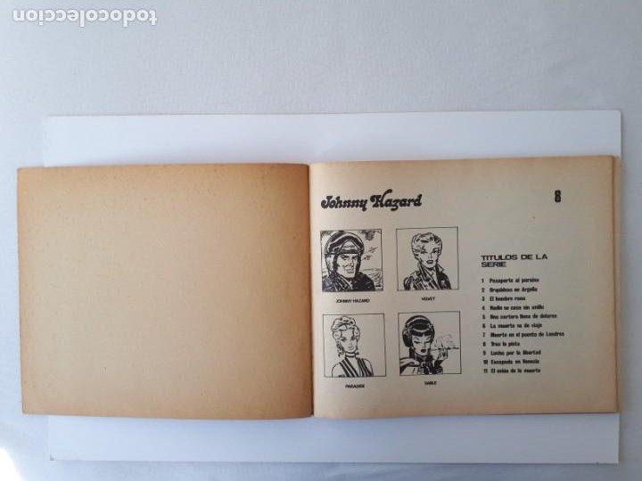 Cómics: JOHNNY HAZARD Nº 8. Tras la pista. Antología del comic Buru Lan nº 16. - Foto 3 - 263062065