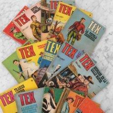 Cómics: TEX - BURU LAN - 1971 - LOTE DE 14 COMICS + 1 REGALO. Lote 263282485