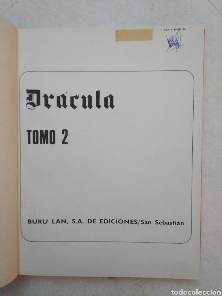Cómics: Drácula cinco por infinito, tomo 2, año 1972 - Foto 4 - 263598465