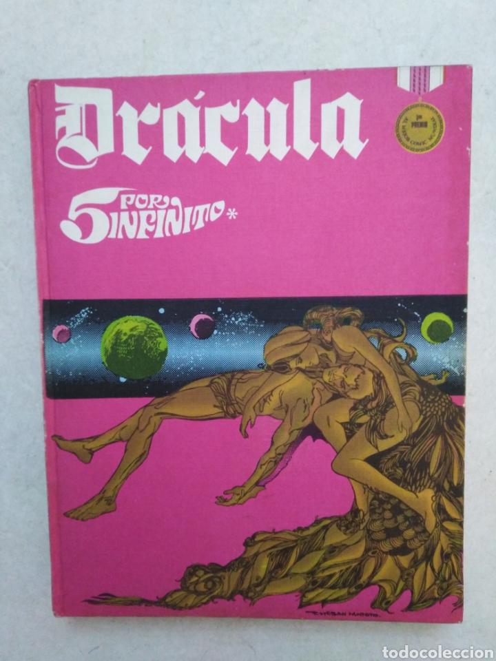 DRÁCULA CINCO POR INFINITO, TOMO 2, AÑO 1972 (Tebeos y Comics - Buru-Lan - Drácula)
