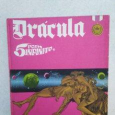 Cómics: DRÁCULA CINCO POR INFINITO, TOMO 2, AÑO 1972. Lote 263598465