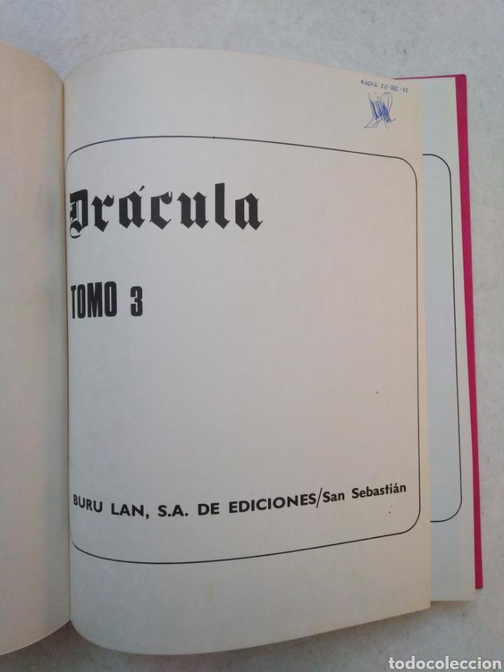 Cómics: Drácula cinco por infinito, tomo 3, año 1972 - Foto 4 - 263598945
