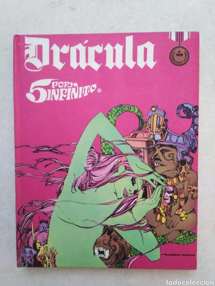 DRÁCULA CINCO POR INFINITO, TOMO 3, AÑO 1972 (Tebeos y Comics - Buru-Lan - Drácula)