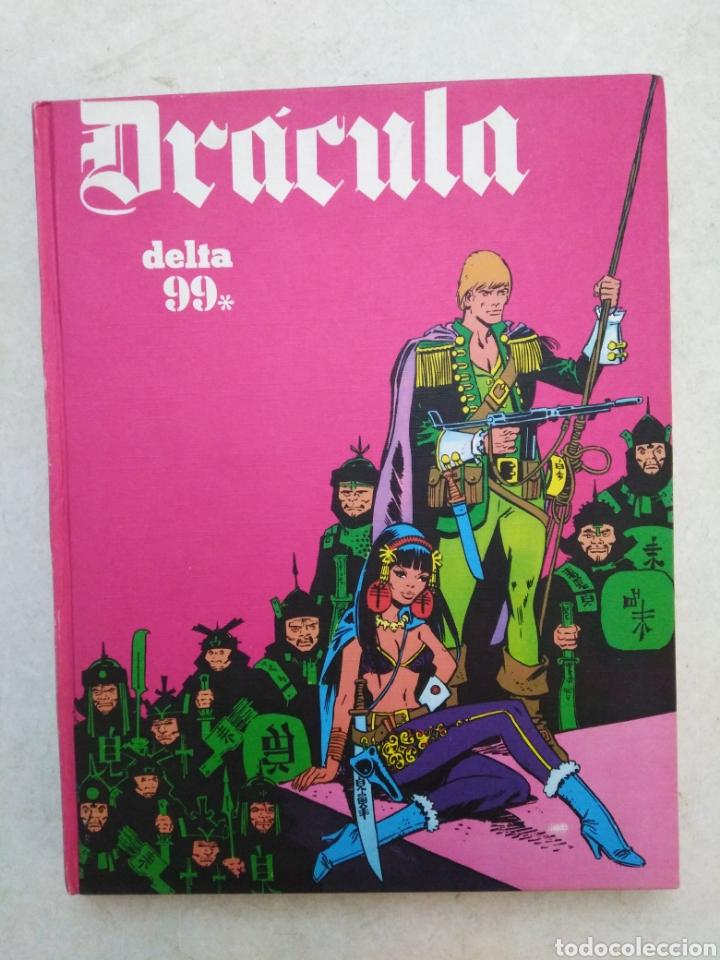 DRÁCULA DELTA 99, TOMO 4, AÑO 1972 (Tebeos y Comics - Buru-Lan - Drácula)