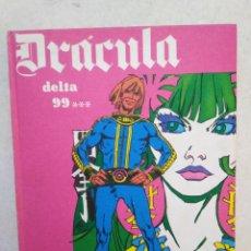 Fumetti: DRÁCULA DELTA 99, TOMO 6, AÑO 1972. Lote 263599920