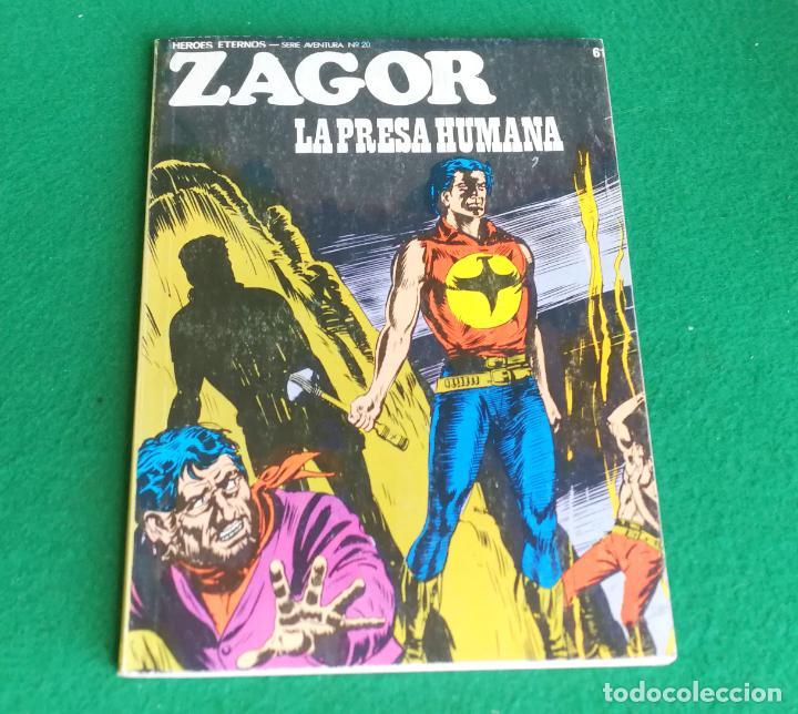 ZAGOR - BURU LAN - Nº 61 - MUY BUENO (Tebeos y Comics - Buru-Lan - Zagor)
