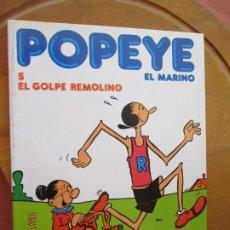 Cómics: POPEYE EL MARINO - Nº 5 EL GOLPE REMOLINO -BURULAN 1983. Lote 264965309