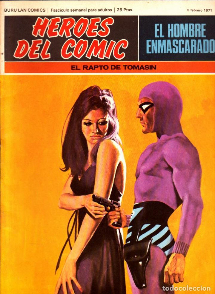 Cómics: LOTE DE 11 COMICS EL HOMBRE ENMASCARADO EDITORIAL BURU LAN DEL 1 AL 11 DEL PRIMER TOMO - Foto 2 - 265415284