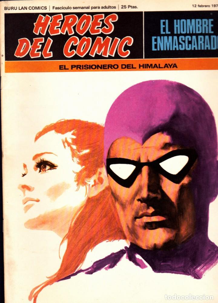 Cómics: LOTE DE 11 COMICS EL HOMBRE ENMASCARADO EDITORIAL BURU LAN DEL 1 AL 11 DEL PRIMER TOMO - Foto 3 - 265415284