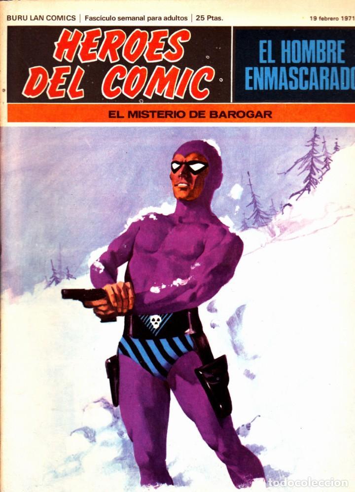 Cómics: LOTE DE 11 COMICS EL HOMBRE ENMASCARADO EDITORIAL BURU LAN DEL 1 AL 11 DEL PRIMER TOMO - Foto 4 - 265415284