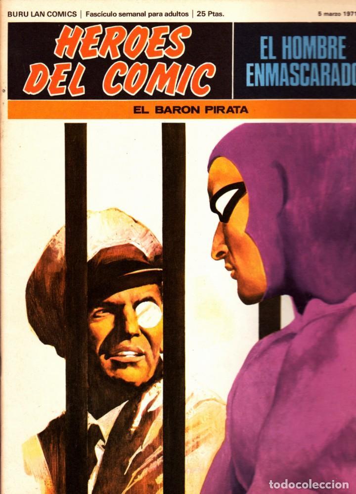 Cómics: LOTE DE 11 COMICS EL HOMBRE ENMASCARADO EDITORIAL BURU LAN DEL 1 AL 11 DEL PRIMER TOMO - Foto 6 - 265415284