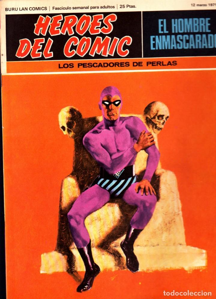 Cómics: LOTE DE 11 COMICS EL HOMBRE ENMASCARADO EDITORIAL BURU LAN DEL 1 AL 11 DEL PRIMER TOMO - Foto 7 - 265415284