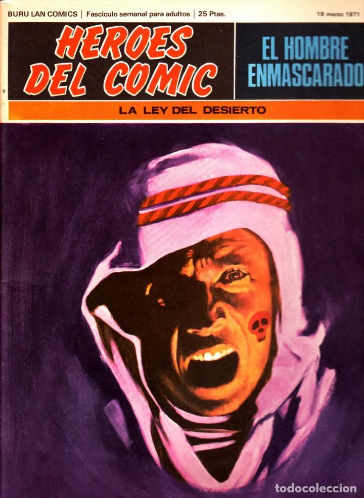 Cómics: LOTE DE 11 COMICS EL HOMBRE ENMASCARADO EDITORIAL BURU LAN DEL 1 AL 11 DEL PRIMER TOMO - Foto 8 - 265415284
