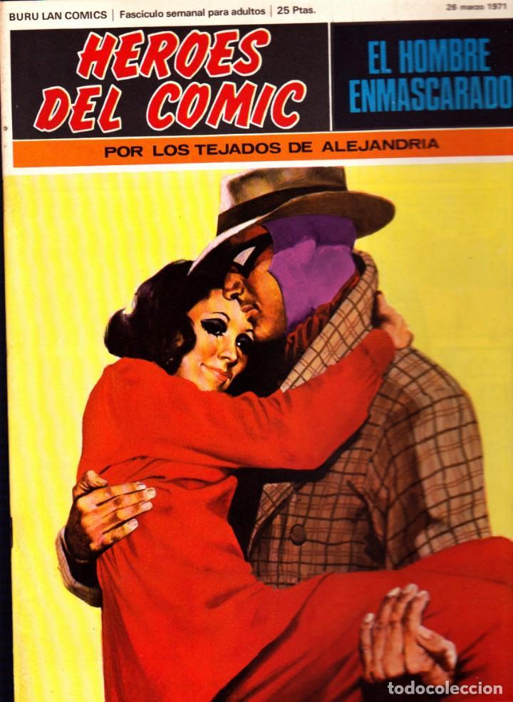 Cómics: LOTE DE 11 COMICS EL HOMBRE ENMASCARADO EDITORIAL BURU LAN DEL 1 AL 11 DEL PRIMER TOMO - Foto 9 - 265415284