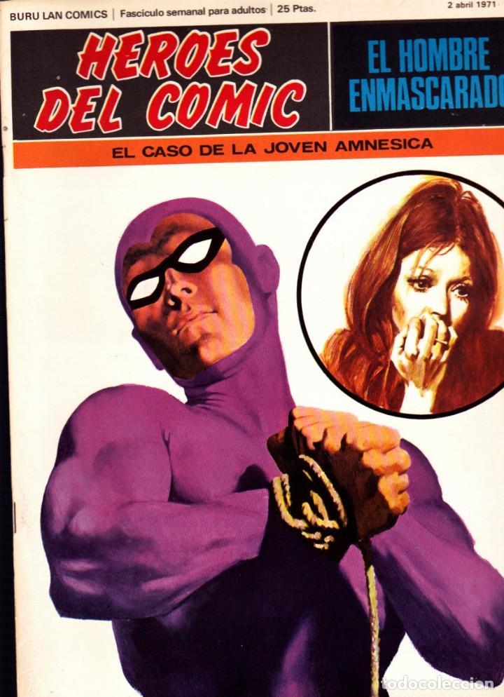 Cómics: LOTE DE 11 COMICS EL HOMBRE ENMASCARADO EDITORIAL BURU LAN DEL 1 AL 11 DEL PRIMER TOMO - Foto 10 - 265415284