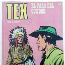 Cómics: TEX Nº 65 - EL PASO DEL CONDOR - BURU LAN EDICIONES. Lote 265449784