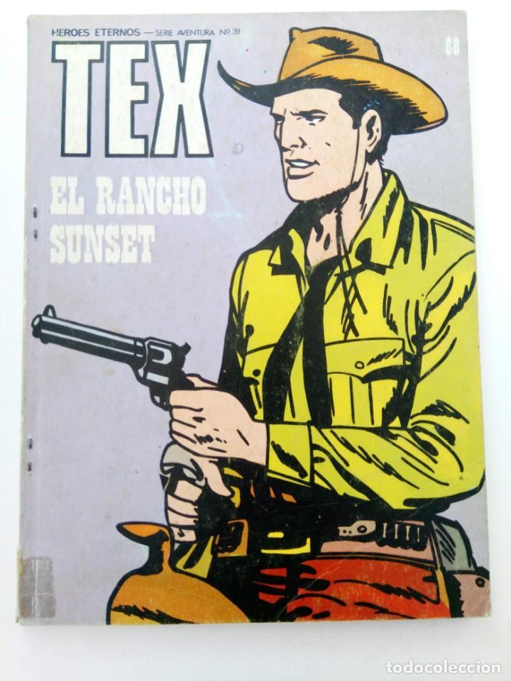 TEX Nº 88 - EL RANCHO SUNSET - BURU LAN EDICIONES (Tebeos y Comics - Buru-Lan - Tex)