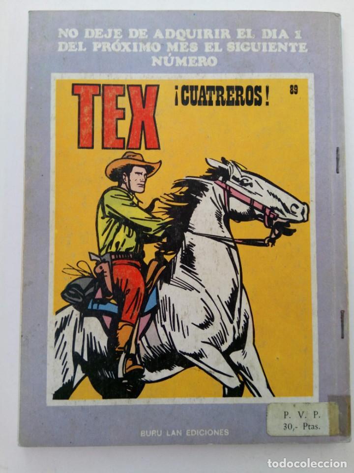 Cómics: TEX Nº 88 - EL RANCHO SUNSET - BURU LAN EDICIONES - Foto 2 - 265453769