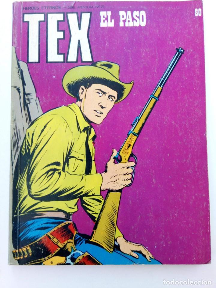 TEX Nº 80 - EL PASO - BURU LAN EDICIONES (Tebeos y Comics - Buru-Lan - Tex)