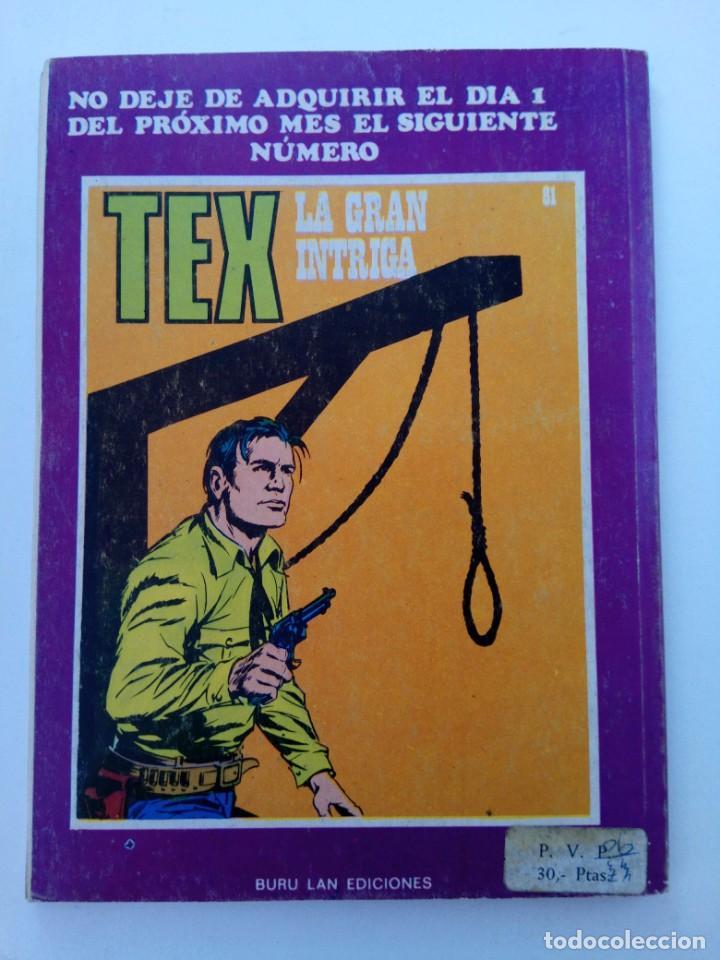 Cómics: TEX Nº 80 - EL PASO - BURU LAN EDICIONES - Foto 2 - 265454169