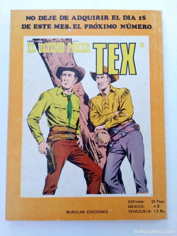 Cómics: TEX Nº 89 - ¡CUATREROS! - BURU LAN EDICIONES - Foto 2 - 265463974
