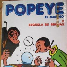 Cómics: POPEYE EL MARINO - Nº 3 ESCUELA DE BRUJAS -BURULAN 1983. Lote 265536154