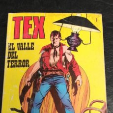 Cómics: EL VALLE DEL TERROR. TEX. N° 1. 1971. Lote 265722339