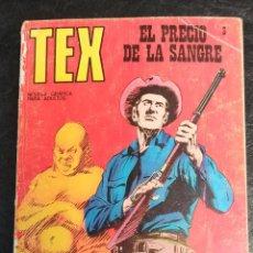 Cómics: EL PRECIO DE LA SANGRE. TEX. N° 3. 1970. Lote 265723589