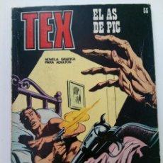 Cómics: TEX Nº 55 - EL AS DE PIC - BURU LAN EDICIONES. Lote 265734879