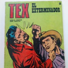Comics : TEX Nº 66 - EL EXTERMINADOR - BURU LAN EDICIONES. Lote 265741134